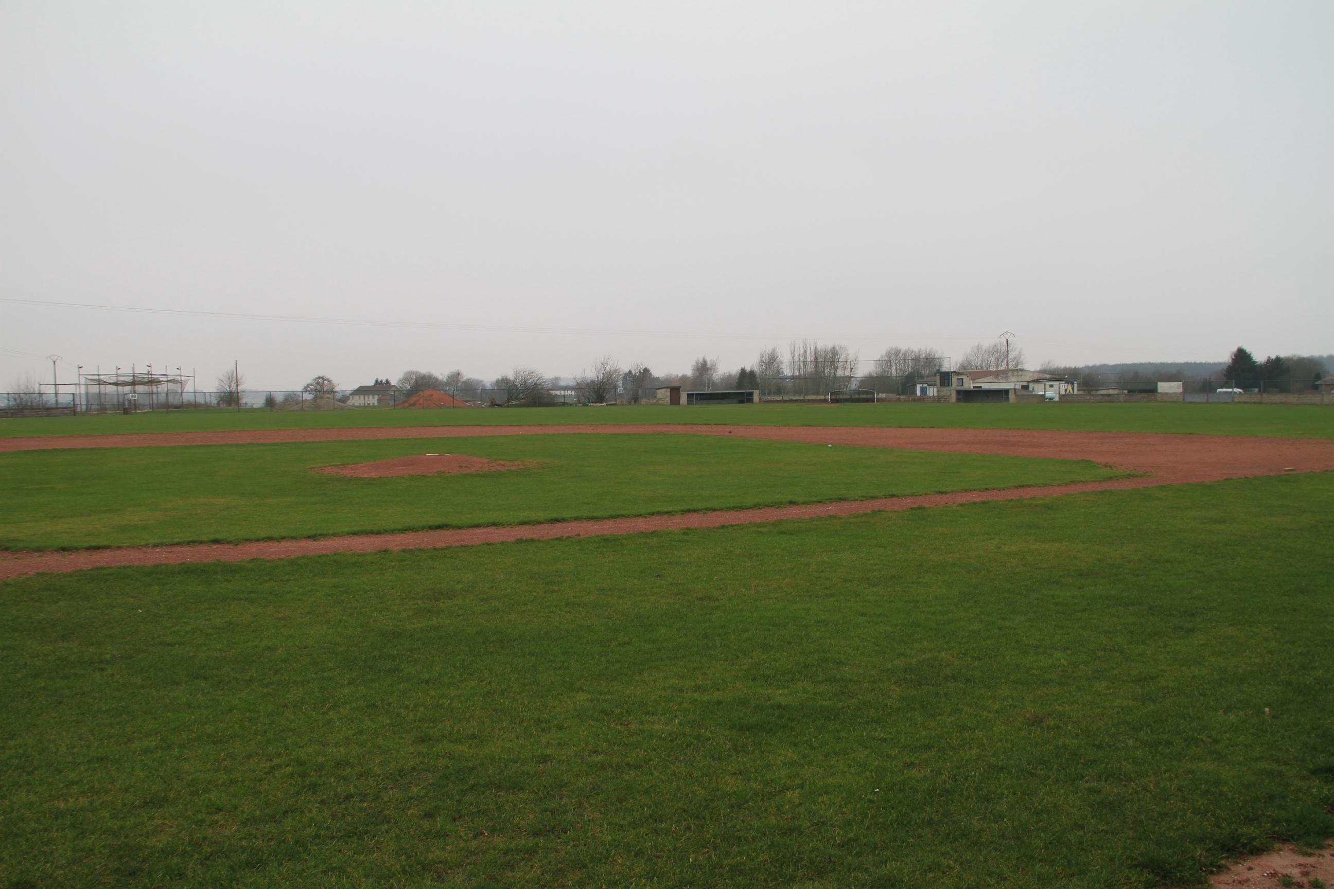 Le terrain de l'équipe Premières