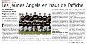 L'Avenir 7/6/2013