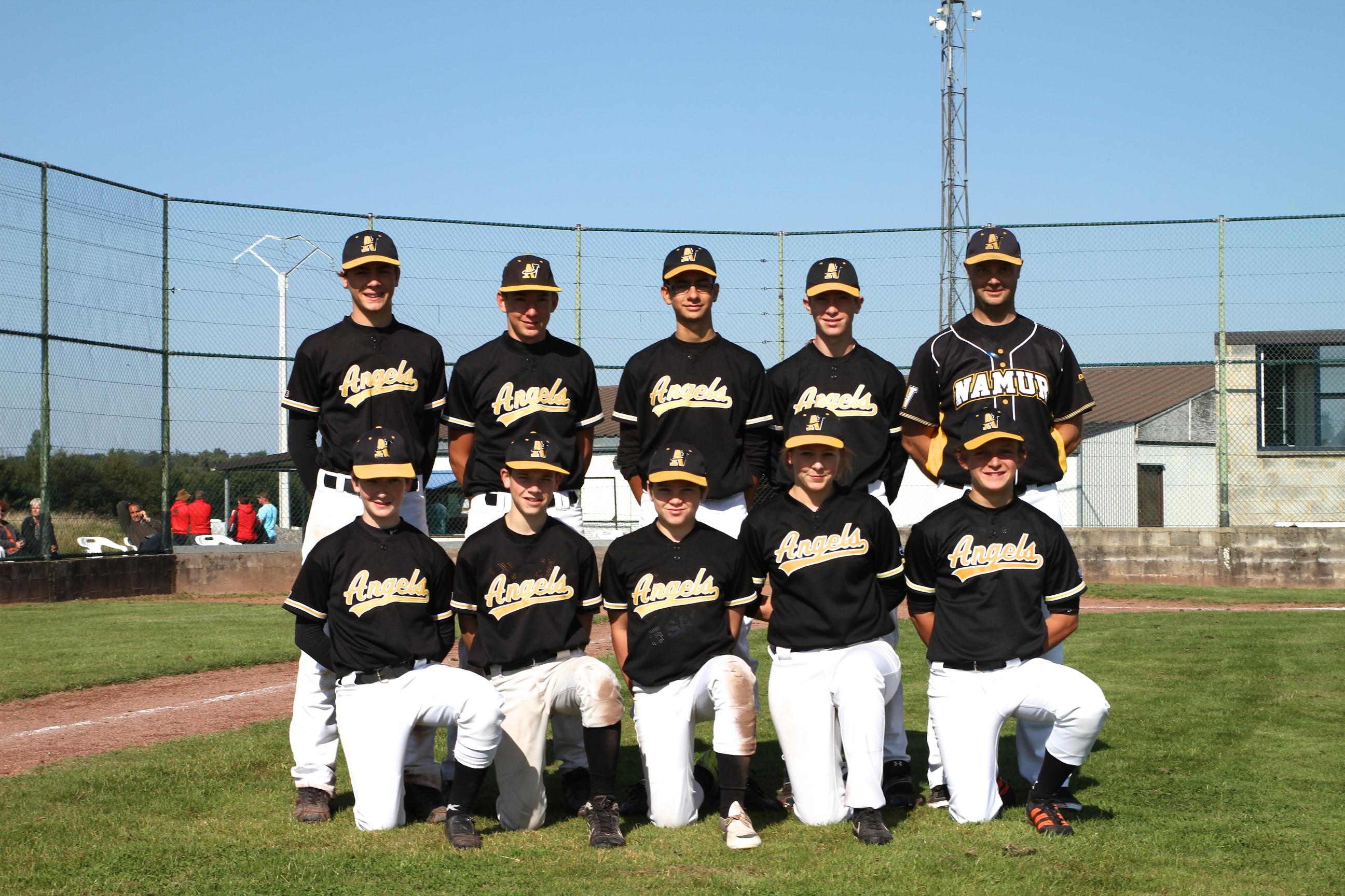 L'équipe des Cadets