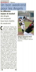L'Avenir du 25-04-2013