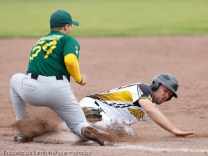 Baseball 1BB : Namur Angels - Merksem Greys