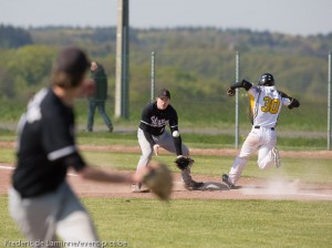 Match de Baseball 1BB : Namur Angels - K. Mortsel Stars FDL 20140419