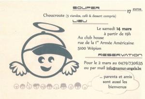 Souper choucroute