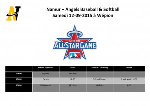 Namur-Angels - All Star Game 1